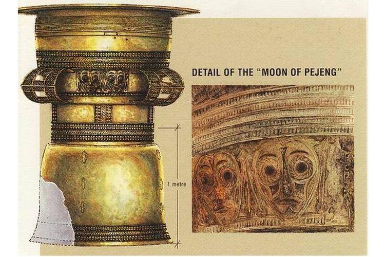 Nekara Pejeng, alat pada zaman Logam masa perundagian Bali.
