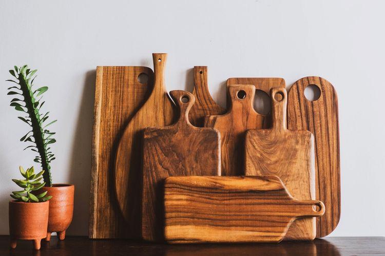 Produk hiasan dinding dari kayu, hasil karya Wooden Projects.