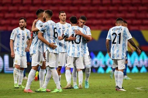 Jadwal Kualifikasi Piala Dunia 2022 - Argentina Vs Bolivia, Brasil Vs Peru