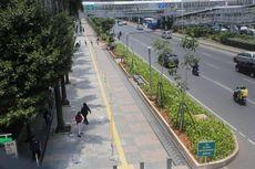 Berbiaya Besar, Seperti Apa Trotoar Jakarta yang Berkonsep Complete Street?