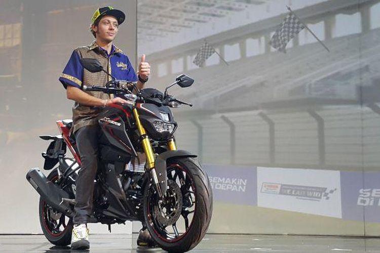 Valentino Rossi di peluncuran Yamaha Xabre