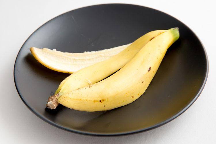 Ilustrasi kulit pisang.