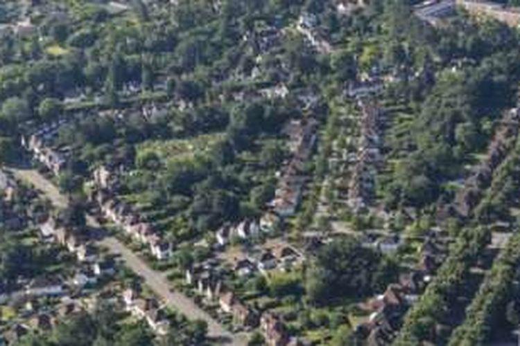 Letchwart merupakan kota taman pertama, dibangun dengan menggabungkan kebaikan pemukiman dan kesejahteraan hidup.