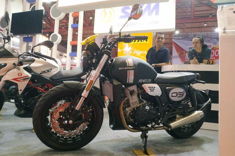 Sm Sport Re3 Cafe Racer Pabrikan Ala Motor Custom