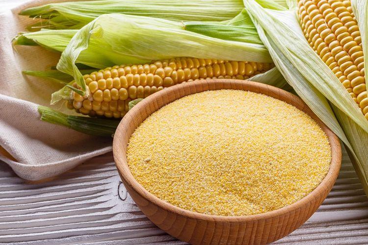Ilustrasi tepung jagung