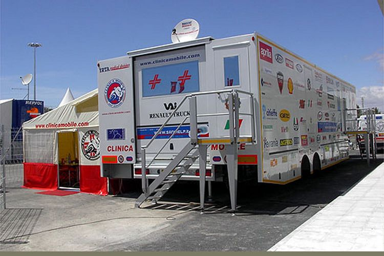 Clinica Mobile, tim medis MotoGP