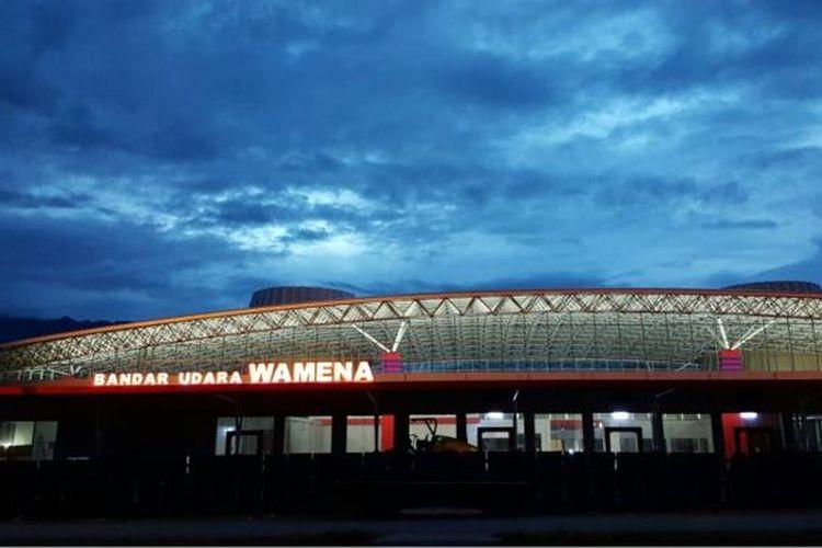 Terminal Bandara Wamena Jayawijaya, Papua.