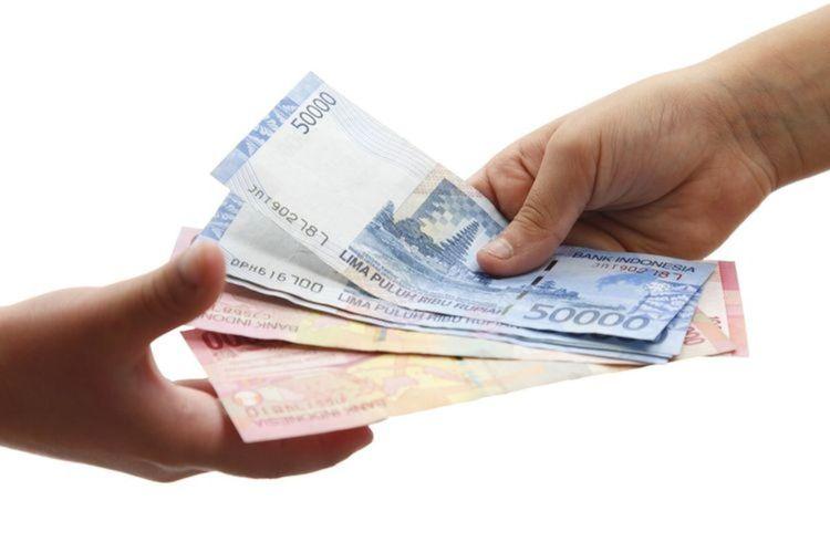 Ilustrasi rupiah, ilustrasi penyaluran BLT, UMKM.