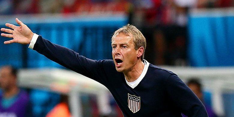 Manajer timnas AS, Jurgen Klinsmann, berargumen wasit asal Aljazair akan untungkan Belgia.
