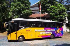 Laksana Bikin Bus Medium Spesial untuk Unika Soegijapranata