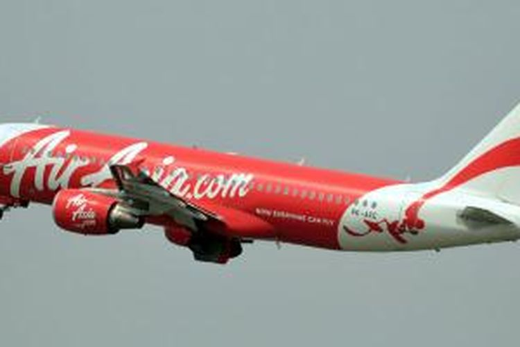 PK-AXC, Airbus A320-200 milik maskapai Indonesia AirAsia yang hilang pada Minggu (28/12/2014) pagi.