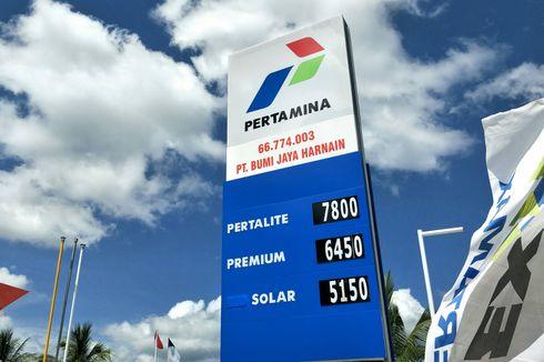Harga Pertamax Tembus Rp 10.400 per Liter
