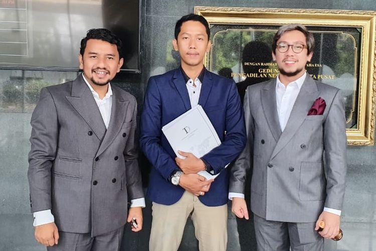 Tim kuasa hukum eks karyawan Sucofindo di PN Jakarta Pusat, Jumat (28/6/2019)