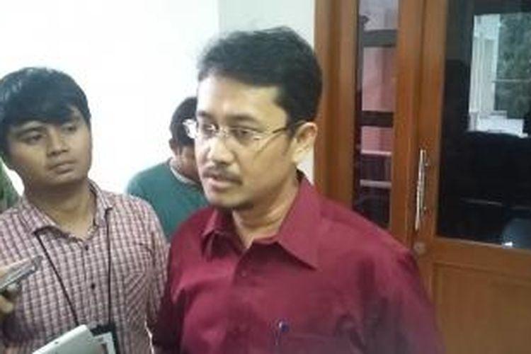 Komisioner Komisi Pemilihan Umum (KPU) Ferry Kurnia Rizkiyansyah, saat ditemui di Gedung KPU, Jakarta, Selasa (12/5/2015).