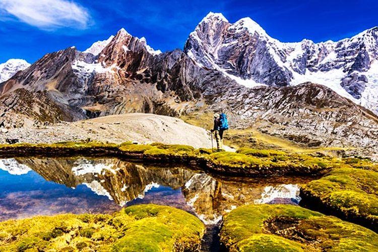 Huayhuash, Peru, Amerika Selatan