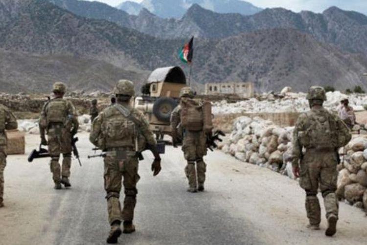 Pasukan NATO di Afganistan.