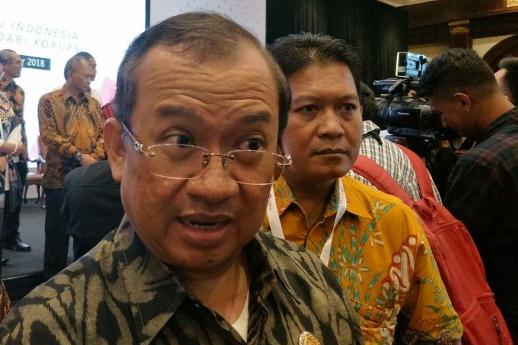 Sekretaris Jenderal Partai Berkarya, Priyo Budi Santoso di Hotel Bidakara, Selasa (4/12/2018).