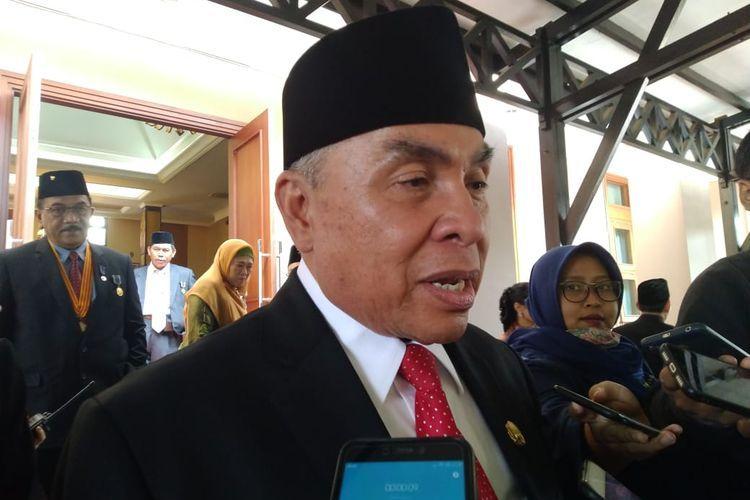 Gubernur Kaltim Isran Noor.
