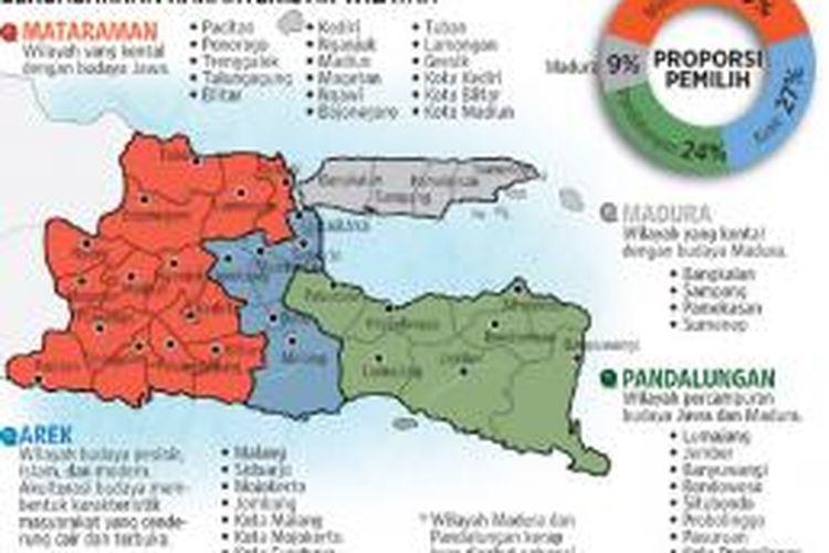Profil identitas kultural dalam Pemilihan Gubernur Jawa Timur 2013
