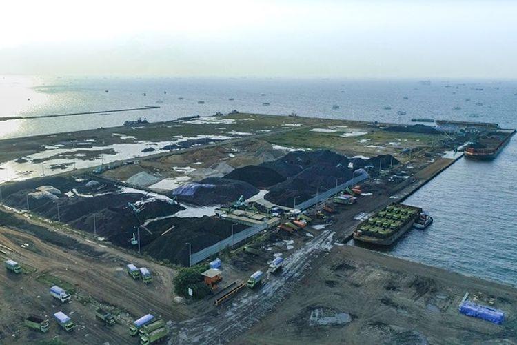 Pembangunan Pelabuhan Marunda.