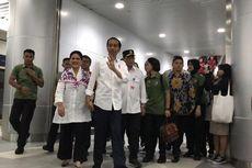 Jajal MRT untuk Kedua Kalinya, Jokowi Ditemani Iriana