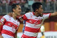 Madura United Menang, Bayu Gatra Persembahkan Gol untuk
