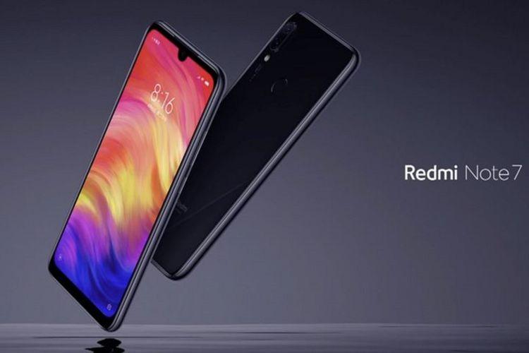 Ponsel Redmi Note 7 dengan kamera 48 megapiksel