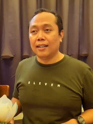 Djatmiko Wardoyo, Direktur Marketing Komunikasi PT Erajaya Swasembada Tbk setelah setelah penjualan perdana iPhone 11 di iBox Central Park Mall, Jakarta Barat.