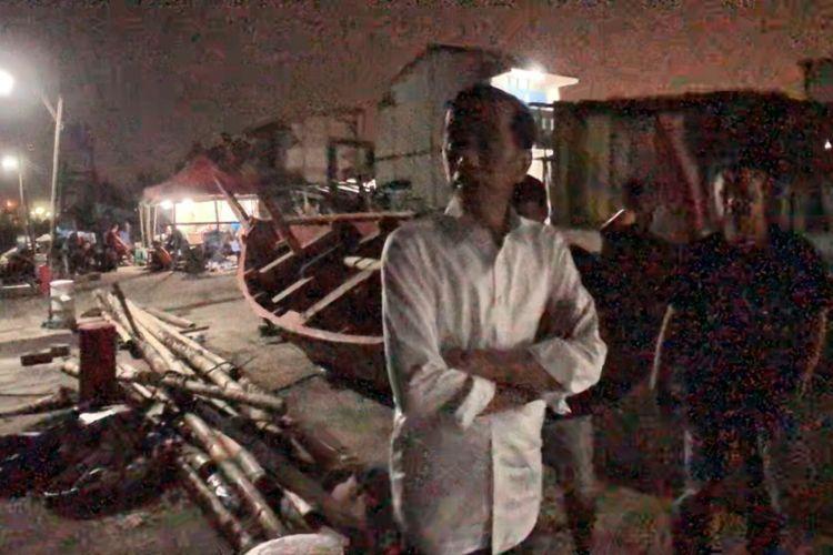Inspeksi mendadak Jokowi di Kampung Nelayan Tambak Lorok, Semarang, 2 Februari 2019 lalu.