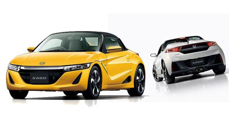Model terbaru Honda S660 di segmen Kei Car.