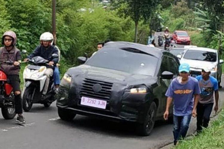 Spyshot Nissan Kicks terjepret di kawasan Lembang, Bandung, Jawa Barat.
