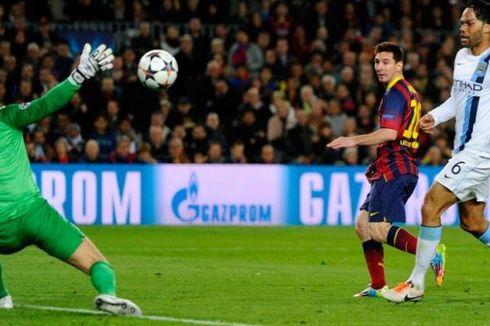 Xavi: Barcelona Pantas Menang atas Manchester City