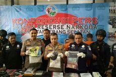 Dua Pengedar Narkoba Jual 8 Kilogram Sabu Sebelum Tertangkap Polres Tangsel
