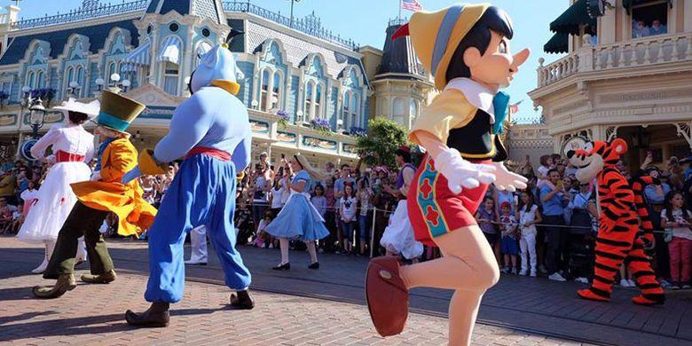 Parade di Disneyland Paris.