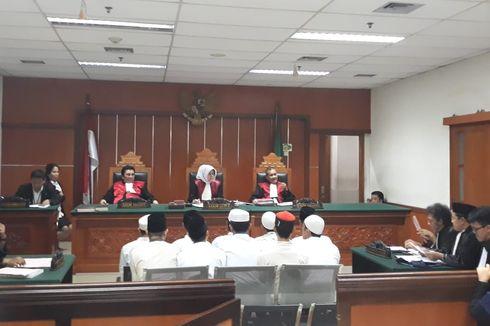 10 Terdakwa Kasus Kerusuhan 22 Mei di Petamburan Vonis 4 Bulan Penjara