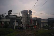 90 Rumah di Bogor Rusak Diterjang Angin Puting Beliung