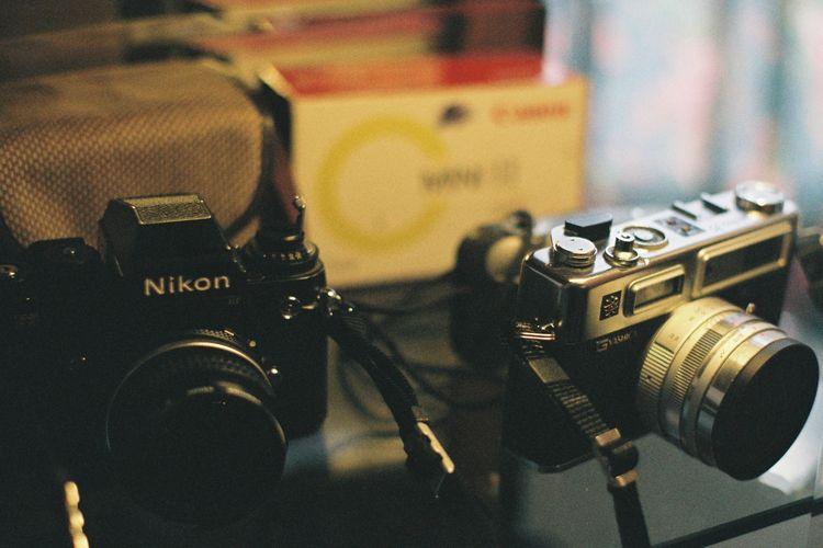 Ilustrasi kamera yang dilengkapi digital image sensor