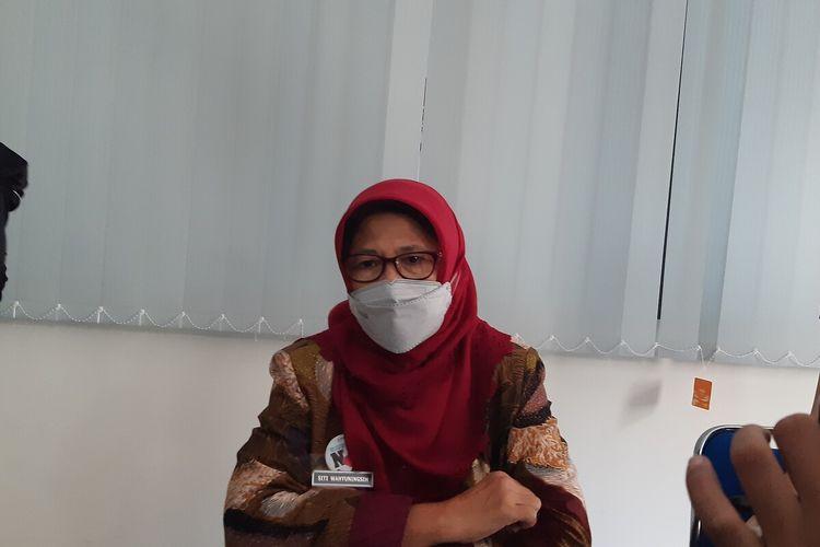 Kepala Dinas Kesehatan Kota Solo, Siti Wahyuningsih di Balai Kota Solo, Jawa Tengah, Selasa (26/1/2021).