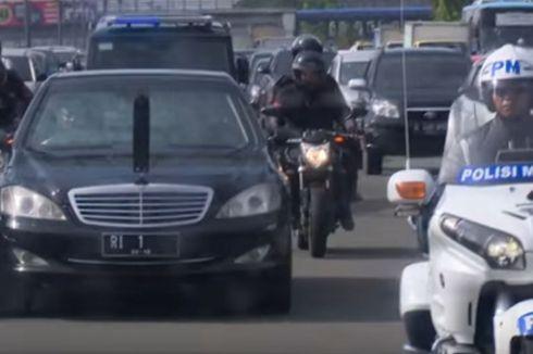 Kronologi Pengemudi Ignis Terobos Rombongan Presiden Jokowi