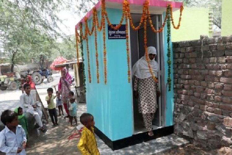 Pemerintah India menetapkan semua rumah diharuskan sudah memiliki jamban pada 2019.