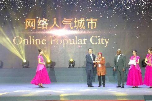 Risma Paparkan Perkembangan Kota Surabaya di Guangzhou International Award 2018