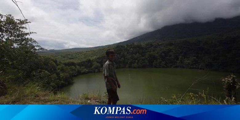 Danau Tolire Primadona Wisatawan Di Ternate