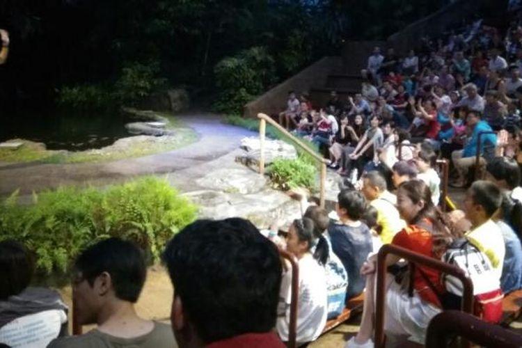 Dibuka pada 1994, Night Safari adalah kebun binatang pertama di dunia yang khusus menampilkan hewan nokturnal.