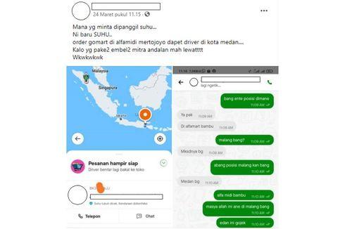 Viral Order Gojek di Malang Dapat Driver Lokasi di Medan, Ini Tanggapan Gojek