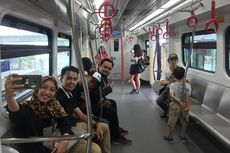LRT Jakarta Katanya Instagramable, Potret Sana-sini Biar Kayak di Singapura