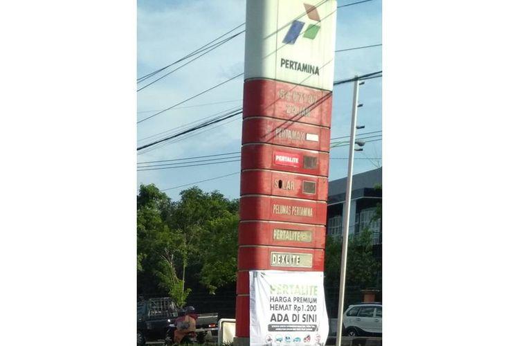 Ramai unggahan soal harga bahan bakar minyak (BBM) berjenis Pertalite berharga setara dengan Premium.