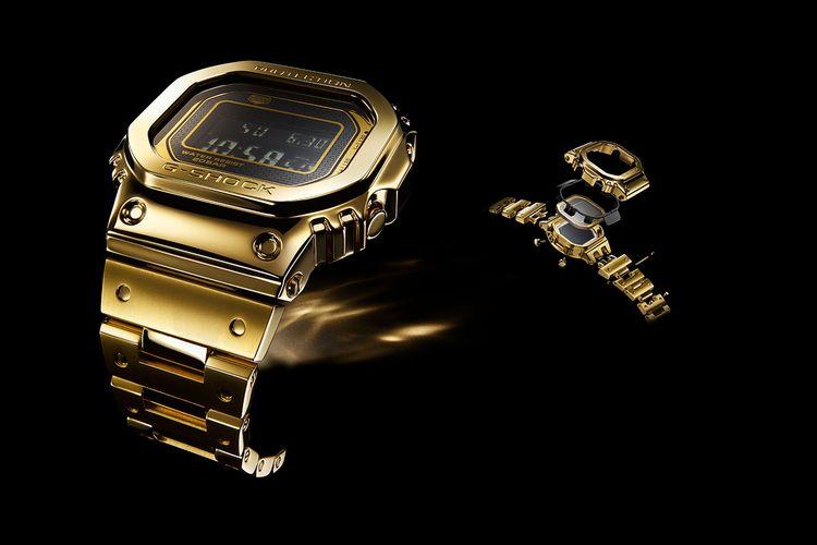 Arloji Emas 18k G-Shock D5000-9JR