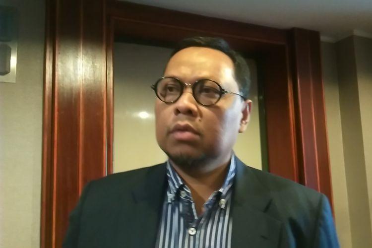 Politisi PKB Lukman Edy di Jakarta, Selasa (21/11/2017).