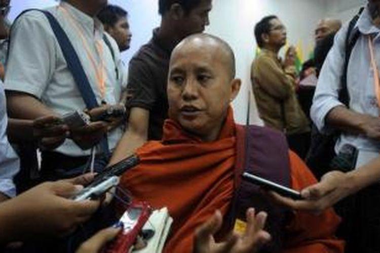 Biksu radikal Myanmar, Wirathu.