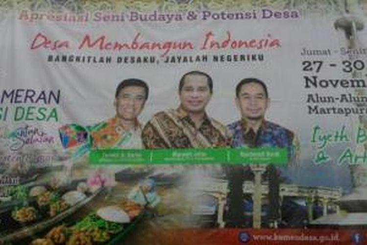 Pameran Potensi Desa yang digelar di Alun Alun Ratu Zalecha Martapura, Kalimantan Selatan. Acara ini dibuka pada Jumat (27/11/2015) dan akan berlangsung hingga Senin (30/11/2015).